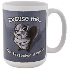 Cute Animal Mugs by Excuse Me Squirrel Mug The Animal Rescue Site