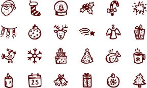 merry icons u2013 100 christmas vector icons