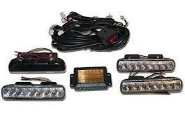 led strobe light kit xprite gen 3 amber yellow 36 led 18 watts high intensity law