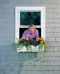 Window Boxes Planters by Flower Window Box Planters Self Watering 31 Inch Gardeners Com