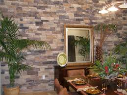 stone walls design panels modern interior design faux rock siding