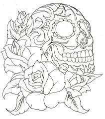 free skull coloring pages printable coloring pages color