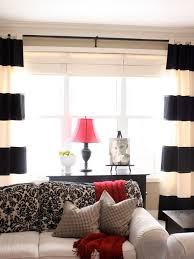 Tan And White Horizontal Striped Curtains Striped Curtains Houzz