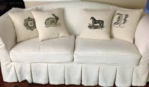 white sofa slipcovers or reclining sofa slipcover white slipcovers