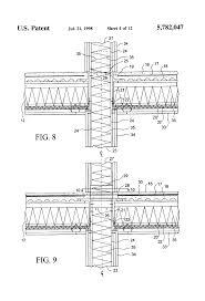 patent us5782047 high rise building system using light gauge