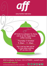 shape hive aff shape house coffee morning visit thursday 5th october