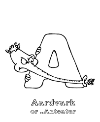 cool anteater animal coloring pages baby giraffe coloring page