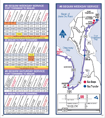 Seatac Terminal Map Jefferson Transit 8 Sequim Route Schedule