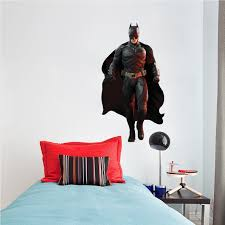 batman wall decal superhero wall design the dark knight wall video