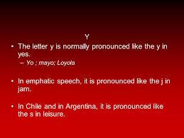 la pronunciación el sistema fonológico del español the sound