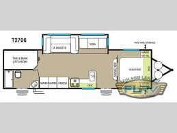 triple bunk travel trailer floor plans new 2015 forest river rv evo t2700 travel trailer at folsom lake rv