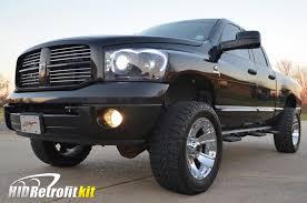 Dodge Ram Custom - 2002 2005 dodge ram matte black custom headlights bi xenon hid