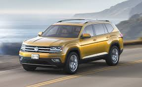 volkswagen sports car models 2018 volkswagen atlas photos and info u2013 news u2013 car and driver