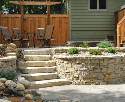 Recon Retaining Wall by Belvedere Rochester Concrete Products