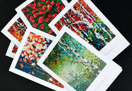 greeting cards of mckinnon paintings