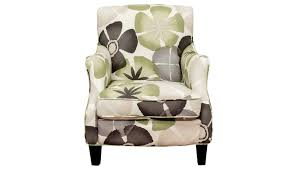 Ben Floral Accent Chair Home Zone Furniture Living Room - Floral accent chairs living room