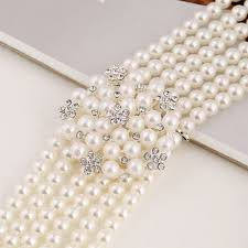 bridal beads necklace images 2015 hot sell white pearl beads nigeria bridal beads jewelry sets jpg