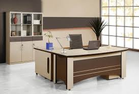 Futuristic Office Desk Modern And Brown Futuristic Office Desk That Can Be Applied