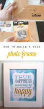 How To Build A Diy by How To Build A Diy Wood Frame For Photos And Printables It U0027s