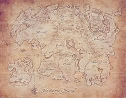 Eso Maps Question Is There A Reason Eso U0027s World Map Doesn U0027t Match The One