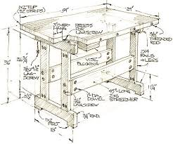 Woodworking Plans For Free Workbench by How To Build A Workbench Simple Diy Woodworking Project