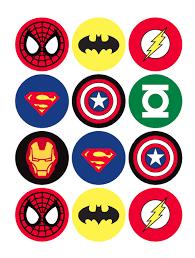 Where To Print Edible Images Where To Find Free Superhero Printables Superhero Birthday Party