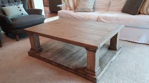 chunky farmhouse table legs coffee table farmhouse coffee table chunky plans legs
