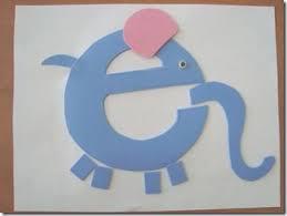38 best letter e images on pinterest preschool alphabet