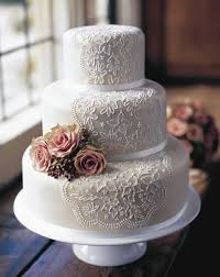 wedding cakes 40 lace wedding cake ideas weddingomania