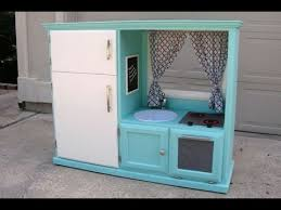 tv cabinet kids kitchen convert an old tv cabinet into a kids play kitchen youtube