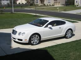 bentley 2006 very rare 2006 bentley gt mulliner coupe in white 3600 miles