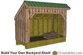 free firewood storage shed plans woodworking design furniture