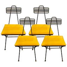 iron dining chair viyet designer furniture seating vintage mid century bent