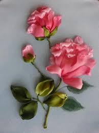 silk ribbon roses silk ribbon flower embroidery designs by inessa timonina