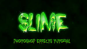 slimy text effect photoshop tutorial for halloween youtube
