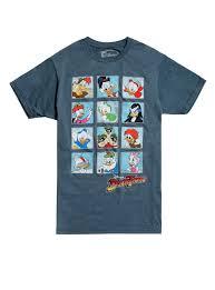 ducktales disney duck tales character grid t shirt topic