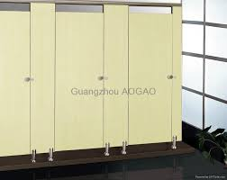 Stainless Steel Bathroom Partitions by Compact Laminated Toilet Partitions With Stainless Steel