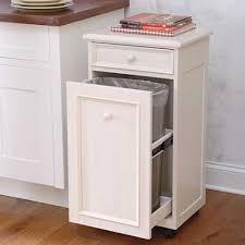 Kitchen Cupboard Garbage Bins by 31 Best Trash Can Diy Cabinets Images On Pinterest Trash Bins