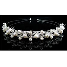 tiaras uk pearl wedding tiaras co uk