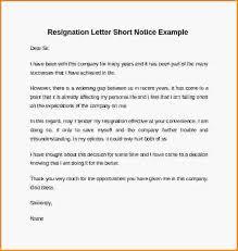 resignation letter samples short notice downloadable resignation