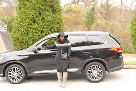 mitsubishi outlander 2016 black the all new mitsubishi outlander talking with tami