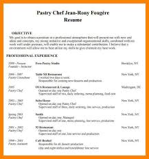Chef Resume Templates Example Chef Resume Resume Example And Free Resume Maker