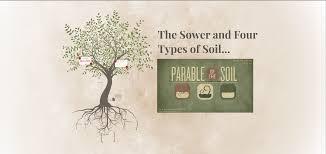 parables u201cthe sower and the four soils u201d u2013 pastor kris belfils