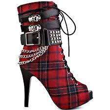 The Origins Of Halloween by Celebrate The Origins Of Halloween With High Heeled Tartan Boots