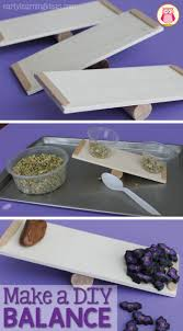 make a diy balance for stem for little learners learning centers
