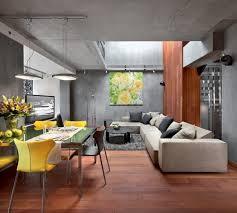explore living room ideas with concrete wall interior design
