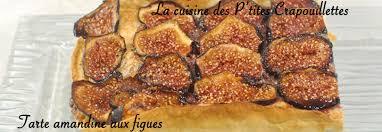 comment cuisiner des figues tarte amandine aux figues la cuisine des p tites crapouillettes