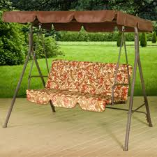 Swings For Patios With Canopy Patio Swings Patio Furniture Patio Bench American Sale