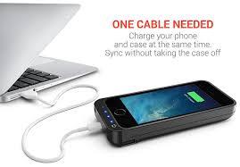 amazon com powerbear battery case iphone 5se 5s 5c 5