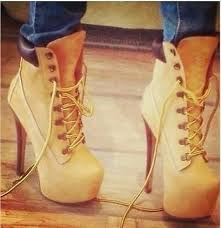 womens boots like timberlands high heeled timberland booties on the hunt